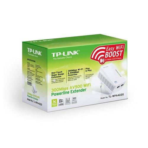 PowerLine Адаптер TP-Link TL-WPA4220