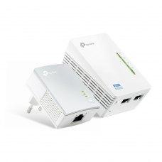 POWERLINE Адаптер TP-LINK TL-WPA4220KIT 300Mbps AV500 Wireless N Powerline Extender