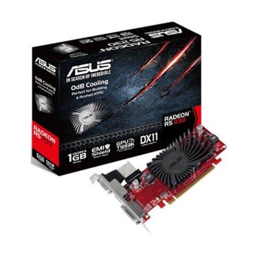 Відеокарта ASUS Radeon R5 230 1GB DDR3 silent