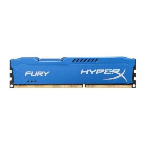 Модуль памяті DDR3, 8GB 1600MHz, HyperX Fury Blu (HX316C10F/8)