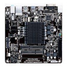 Материнська плата Gigabyte GA-J1800N-D2H Встроенный процессор, Bay Trail-D, 2 x DDR3 SODIMM, 8GB