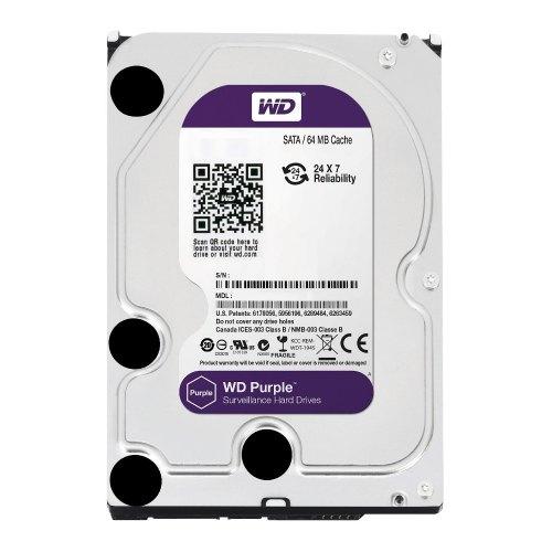 Внутрішній жорсткий диск 3.5 2000GB WD (WD20PURX) IntelliPower 64Mb Cache Purple SATA 3.0