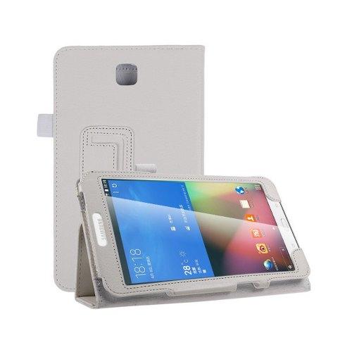 Шкіряний чохол-книжка TTX з функцією підставки для Samsung Galaxy Tab 4 8.0 SM-T330 White