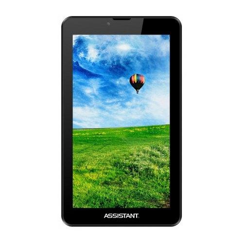 Планшет ASSISTANT AP-727G 7 1024x600/МТК8312 DC 1.2GHz/1GB/8GB/WiFi/2xCam/Android 4.2/3G/2sim/GPS