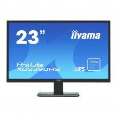 Монітор iiyama XU2390HS-B1 23', IPS, 16:9, 1920х1080 (Full HD), 5 000 000:1, 250 кд/м2, 5мс, 178/178, DVI, HDMI, VGA, ММ 2х2Вт, VESA 100х100 мм, black
