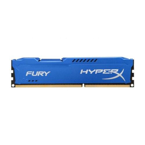 Модуль памяті DDR3 Kingston 4Gb 1600MH z HyperX Fury Blu HX316C10F/4