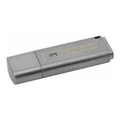 USB флеш 3.0 Kingston DT Locker+ G3 8GB