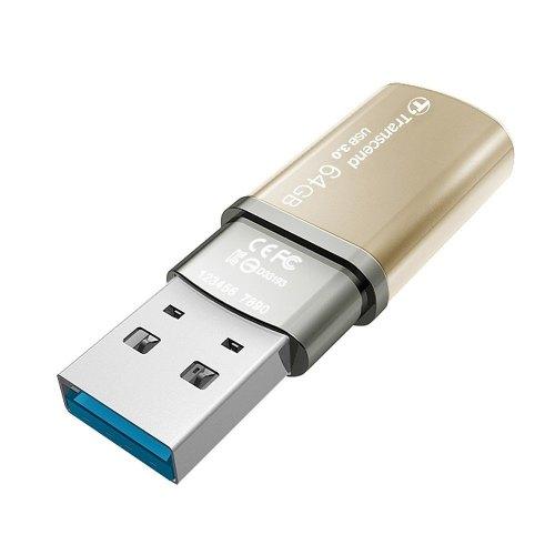 USB флеш 64GB Transcend JetFlash 820 Gold (TS64GJF820G)
