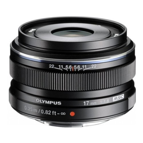 Обєктив Olympus EW-M1718 17mm 1:1.8 Black (V311050BE000)