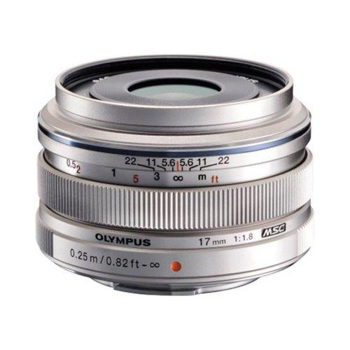 Обєктив Olympus EW-M1718 17mm 1:1.8 Silver (V311050SE000)