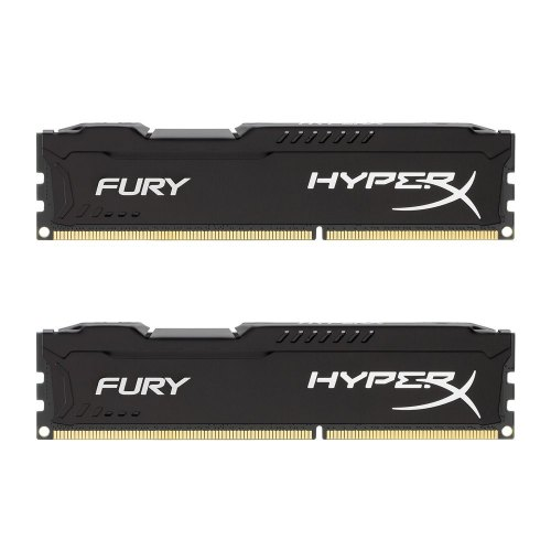 Модуль памяті IT/RAM Kingston HyperX OC KIT DDR3 2x4Gb 1600Mhz CL10 Fury Black