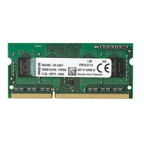 Модуль памяті SoDIMM DDR3 Kingston 4GB 1600 MHz (KVR16LS11/4G) 1600 MHz, PC3-12800, 1.5V, 1 планка