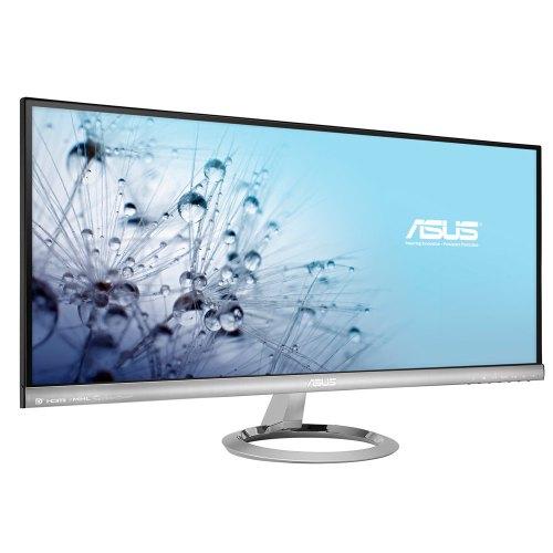 Монитор ASUS MX299Q 29Wide, AH-IPS с LED, 21:9, 2560x1080, 1000:1 (DC 80 000 000:1), 300 кд/м2, 5мс, 178/178, 8