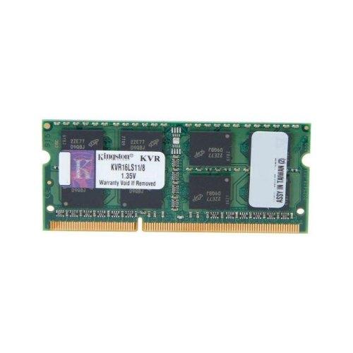 Модуль памяті SoDIMM DDR3 Kingston 8GB 1600 M Hz 1.35V KVR16LS11/8