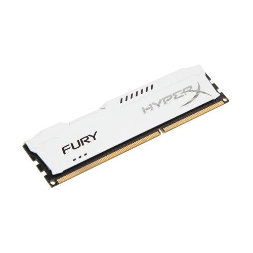 Модуль памяті DDR3, 8GB 1866MHz, HyperX Fury White (HX318C10FW/8)