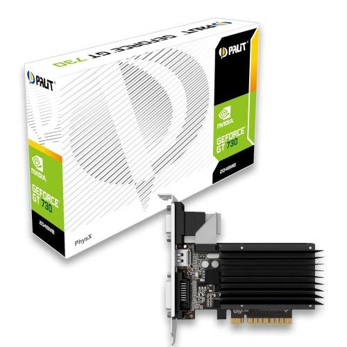 Відеокарта PALIT GeForce GT730 2GB DDR3 (NEAT7300HD46-2080H) 64bit