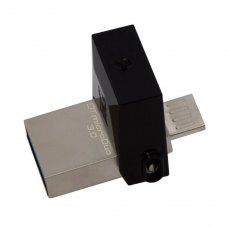 USB флеш 32Gb Kingston DT microDuo USB 3.0/microUSB (DTDUO3/32GB)