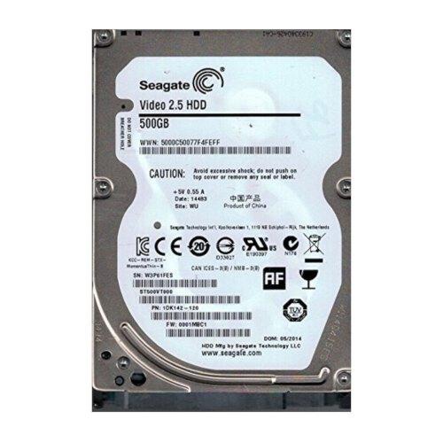 Жорсткий диск 2.5 Seagate Video 500GB (ST500VT000) Refubrished