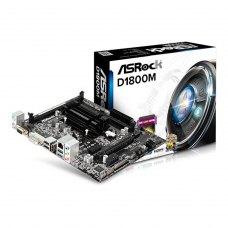 Материнська плата ASRock D1800M (Intel Dual-Core J1800, SoC, PCI-Ex16)