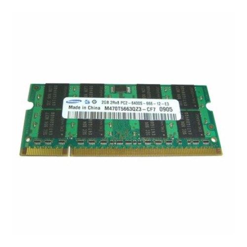 Модуль памяті SoDIMM DDR2 2GB 800 MHz SAMSUNG (M470T5663FB3-CF7) 800 MHz, PC2-6400, CL6, 1 планка, Original