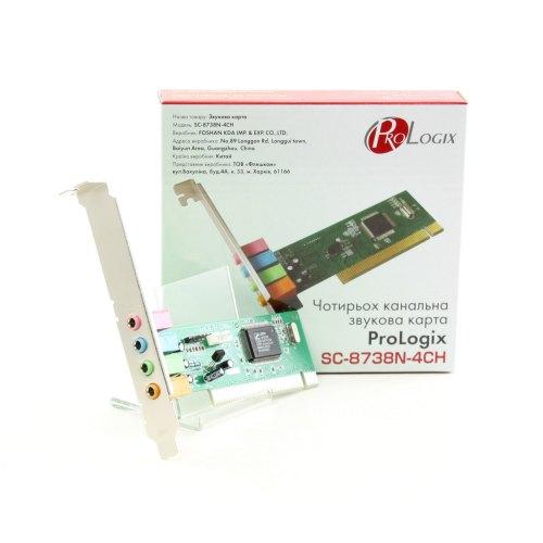 Звукова карта, ProLogix (SC-8738N-4CN), PCI sound card 4CH