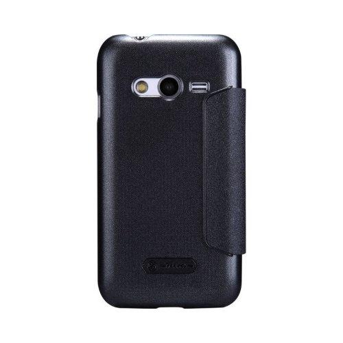Чохол книжка Nillkin Sparkle Series для Samsung G313 Galaxy Ace 4 Black