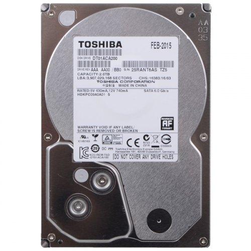 Жорсткий диск HDD 3.5 2TB TOSHIBA (DT01ACA200)