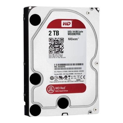 Жорсткий диск 3.5 Western Digital Red Plus 2TB (WD20EFRX)