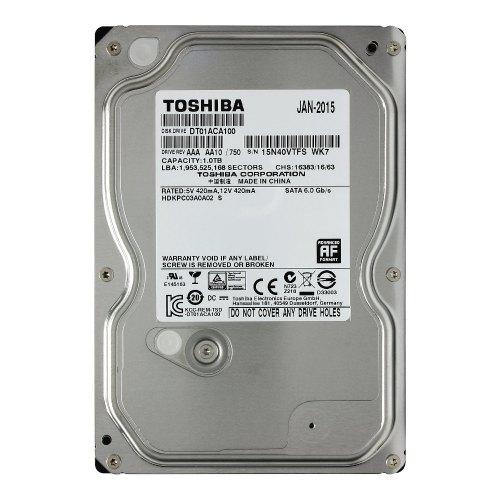 Жорсткий диск HDD 3.5 1TB TOSHIBA (DT01ACA100)