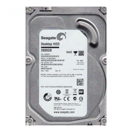 Внутрішній жорсткий диск 3.5 2000GB Seagate (ST2000DM001) SATA III, 7200 об./хв, 64МВ, NCQ