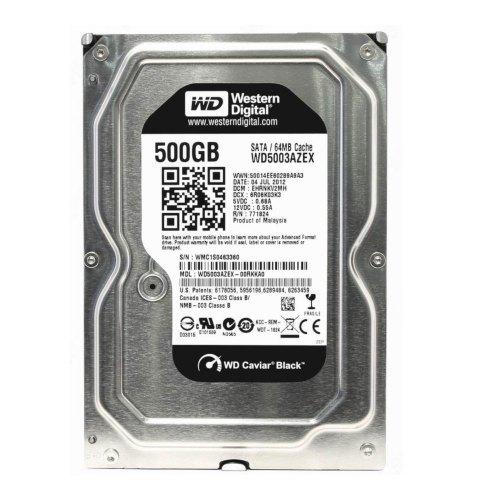 Жорсткий диск 3.5 Western Digital Black 500GB (WD5003AZEX)
