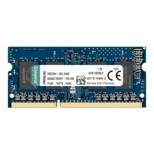 Модуль памяті SoDIMM DDR3 Kingston 2048MB 1333 MHz (PC10600) Original для ноутбука