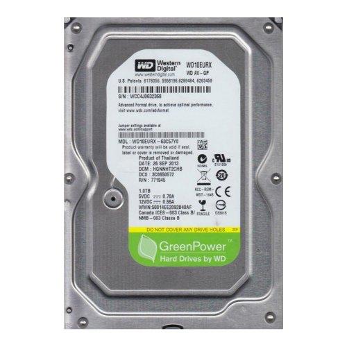 Внутрішній жорсткий диск 3.5 1000GB WD (WD10EURX) SATA III, 5400-7200 об./хв, 64МВ