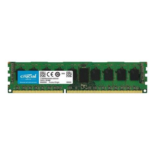Модуль памят DDR3  Micron Crucial 8GB 1600 ECC  Unbuffered  1.35V