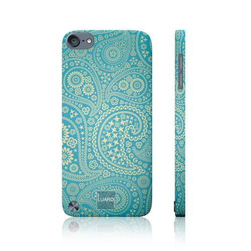 Накладка Luardi Snap-on for iPhone 5 / 5S ( GOLDEN PAISLEYS) Soft touch