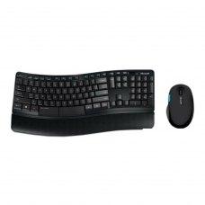 Комплект бездротовий (клавіатура+мишка), Microsoft Comfort Desktop