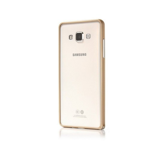 Бампер Samsung A500 Galaxy A5 metall Gold