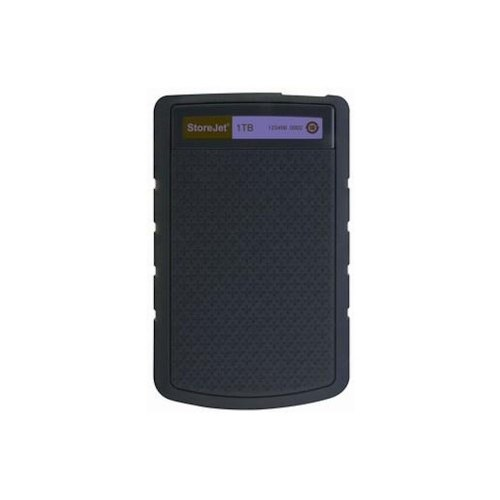Зовнішній жорсткий диск 1TB Transcend StoreJet 25H3P (TS1TSJ25H3P) 2,5, USB3.0, Black-Purple