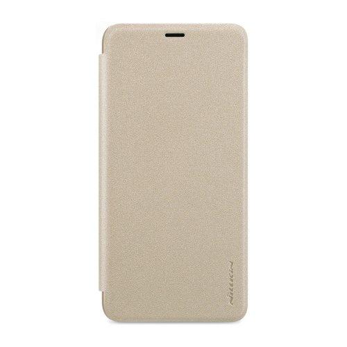Чохол книжка Nillkin Sparkle Series для HTC One M9 Gold