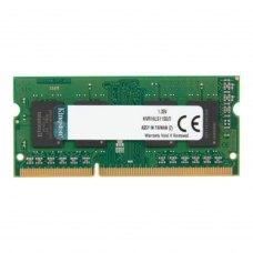 модуль пам'яті 2GB DDR3 1600 M Hz sodimm 1.35V KVR16LS11S6/2