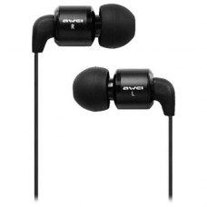 Навушники  Awei ES600M, Black