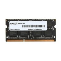 Модуль памяті SoDIMM DDR3 AMD Radeon 4GB 1600 MHz   (R534G1601S1SL-UOBULK) 1600 MHz, PC3-12800, CL11, 1.35V, bulk