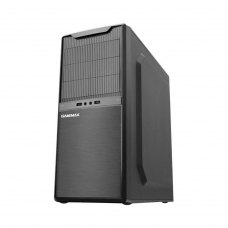 Корпус GameMax MT507 (MT507-500W) Miditower Tower, ATX, чорний, 500Вт, 2*USB, Audio, 460 x 240 x 460 мм