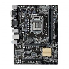 Материнська плата Asus (H110M-C) Socket 1151 2xDDR4, DVI, PCIEx16x, PCI, 4xSATA3, 4xUSB3.0, COM, LAN, 2xPS/2, mATX