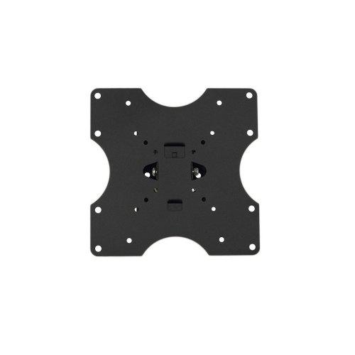 Кронштейн КВАДО K-40 15-32, 45/20, 40кг, 81мм, чорний, похило-поворотна, 50x50/200x200