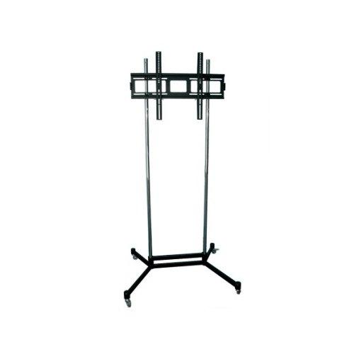 Стійка презентаційна для плазм та ЖК KSL PS1 до 150 кг, 187 см, чорний