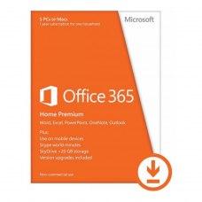 Офісний додаток Microsoft Office 365 для дому 5 ПК або Мас (електронна ліцензія) (6GQ-00084)