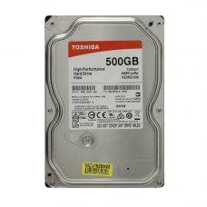 Внутрішній жорсткий диск  3.5 500Gb TOSHIBA (HDWD105UZSVA)7200 об/мин, 64 MB, SATA III, P300