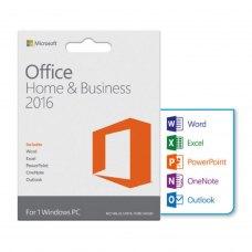 Офісний додаток Microsoft Office 2016 для дому та бізнесу 1 ПК (електронна ліцензія, всі мови) (T5D-02322)