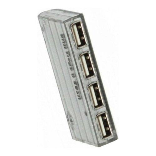 Концентратор USB 2.0, 4 ports, без БП VE099